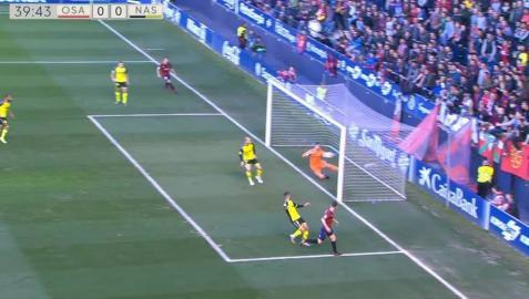 El tiro de Roberto Torres entró