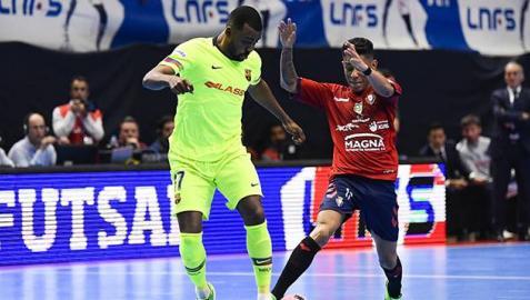 Un gol madrugador acaba con el sueño de Osasuna Magna
