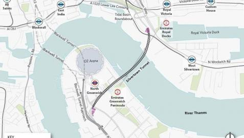 Dos constructoras españolas se disputan un túnel bajo el Támesis en Londres