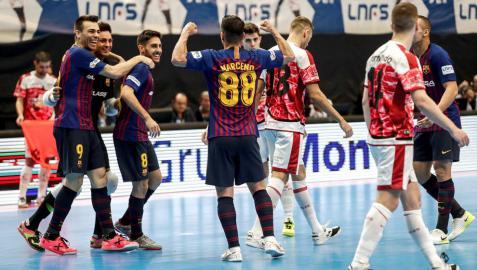 El Barça Lassa se corona campeón de Copa