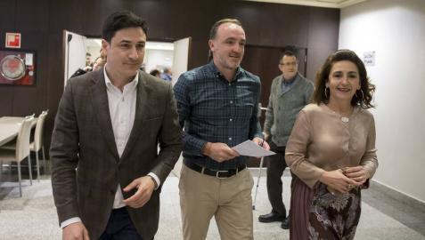 """Javier Esparza: """"Vamos juntos porque no podemos perder un voto"""""""