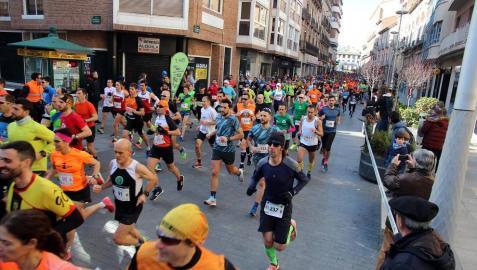 Imágenes de la 'IX Media Maratón Estela Navascués y 10 km Ciudad de Tudela'