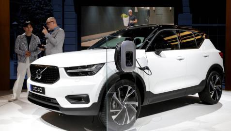 Presentación del XC40, un nuevo modelo de Volvo.