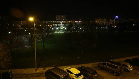 La falta de iluminación en algunas zonas de Pamplona pone en alerta a los vecinos