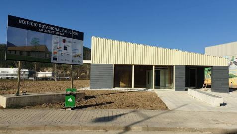 Esteribar quiere abrir este mes el nuevo centro cívico de Olloki