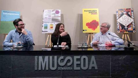 Las librerías navarras premian a Júlia Sardà, Harkaitz Cano y Santiago Lorenzo