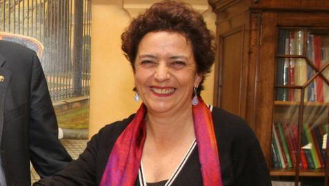 La actriz y directora teatral tudelana Aurora Moneo