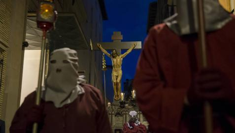 El Cristo Alzado ya espera en la catedral a la Dolorosa que llegará el 5 de abril