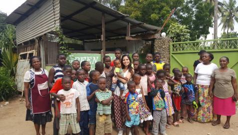 Marta se vuelca con Kenia