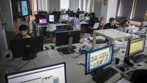 'DinoGames', un videojuego, serie y  largo de animación desde Navarra