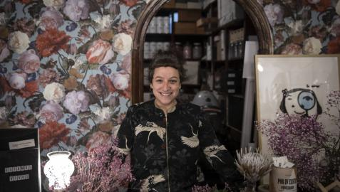 """Mireia Arbizu, 'Pitxu': """"La felicidad la lleva cada uno según su mirada"""""""