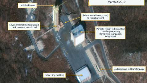 Detectan actividad en otra instalación de misiles en Corea del Norte