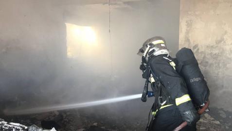 Muere un hombre de 88 años en incendio de una vivienda en Pedrezuela