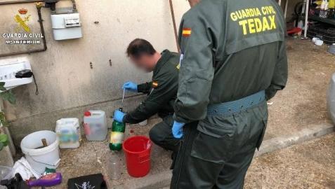 Han sido detenidos cuatro rumanos con la misma sustancia que almacenó la célula que atentó en Cataluña tras explotar la casa-laboratorio de Alcanar.