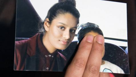 La londinense Shamima Begum.