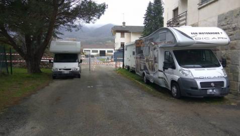 Inmovilizadas tres autocaravanas en Navarra con matriculas falsas