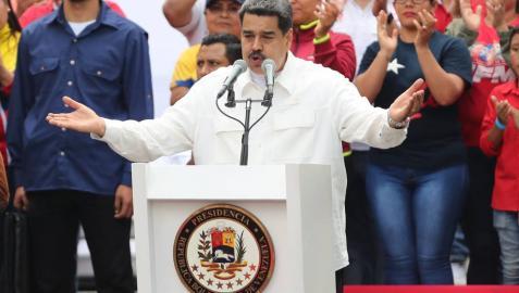 Maduro carga contra EE UU por los apagones en Venezuela