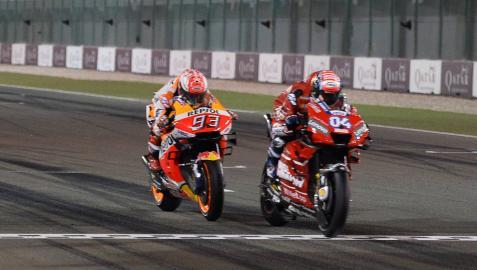 El tiempo parece no pasar para Dovizioso y Márquez