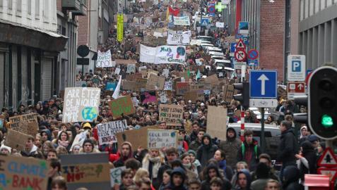 Adolescentes europeas revolucionan la lucha contra el cambio climático