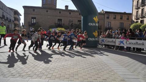 Imágenes de la prueba disputada este domingo, 10 de marzo, en la localidad navarra.