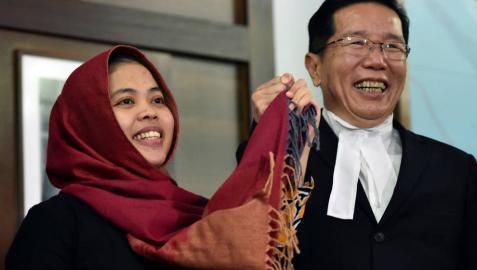 En libertad una de las dos acusadas del matar al hermano de Kim Jong-un
