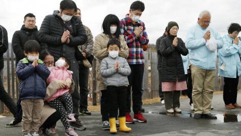 Japón conmemora el octavo aniversario del terremoto y el tsunami de 2011