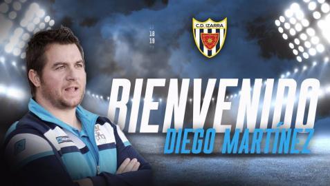 Diego Martínez, nuevo entrenador del C.D. Izarra