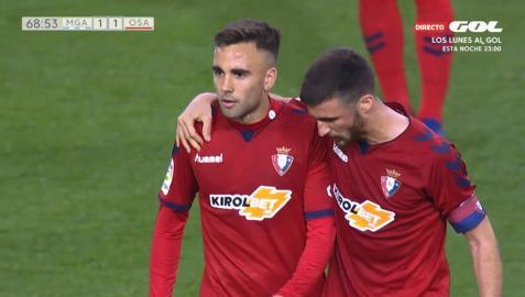 En directo: sigue la narración minuto a minuto del Málaga-Osasuna
