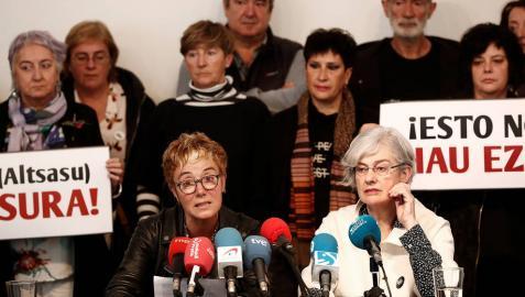 La madre de uno de los condenados de Alsasua, candidata de Bildu al Congreso