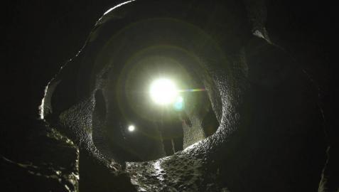Un mundo luminoso bajo tierra