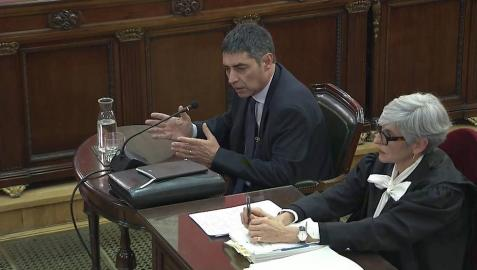 Trapero asegura que los Mossos prepararon la detención de Puigdemont