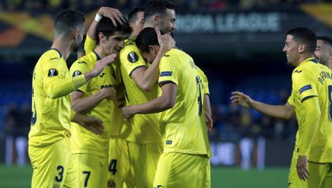 El Villarreal sigue disfrutando en Europa
