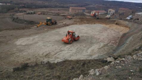 Una pista para Puñal en Allepuz, Teruel