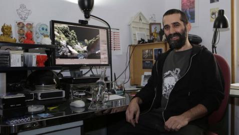 """Martxintxo Etxauri: """"La realidad virtual te permite convertirte en un desayuno"""""""