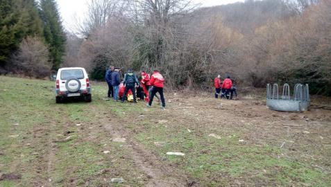 Hallan en Burguete a una persona de 89 años desaparecida desde el sábado