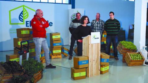 Inaugurado el centro de acopio de alimentos ecológicos en Noáin