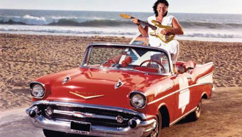 Dick Dale, en una imagen promocional.