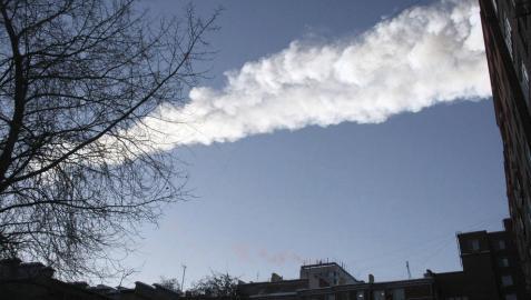 Un meteorito 10 mayor que la bomba de Hiroshima explota en Rusia