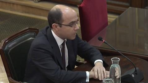 Felipe Martínez Rico, durante el juicio del procés.