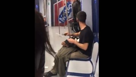 El joven que afiló un cuchillo en el Metro es un cortador de jamón que iba a trabajar