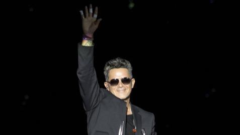 El pop en español se rinde a Alejandro Sanz en una celebración algo accidentada