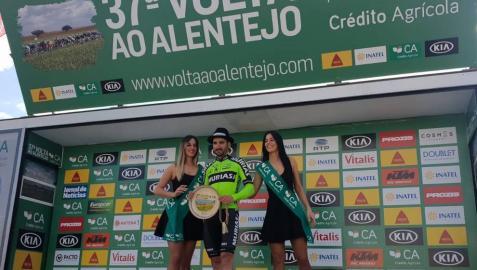 El navarro Enrique Sanz repite victoria en la segunda etapa de la Vuelta al Alentejo