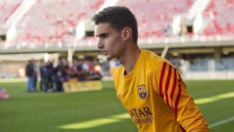 El navarro Jokin Ezkieta se perfila como suplente de Ter Stegen en el Valladolid-Barcelona
