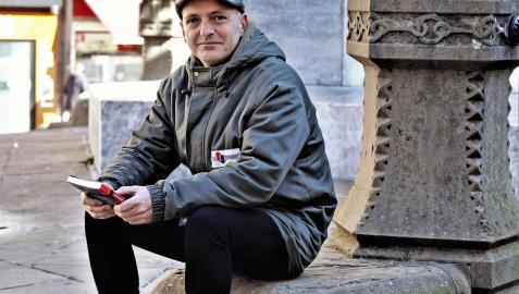 "Juantxo Skalari: ""La vida me llevó a dejar Pamplona e  ir a Cataluña"""
