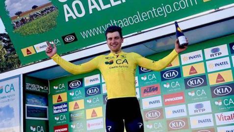 Enrique Sanz pierde el liderato de la Vuelta al Alentejo en la tercera etapa