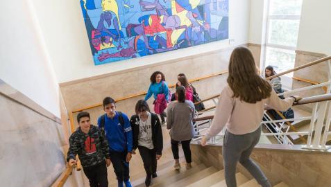 IES Alhama de Corella, un centro que potencia la faceta más humana de sus alumnos