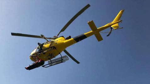 Rescatado un montañero de San Sebastián tras sufrir una caída en el Pico Ori