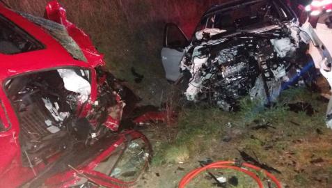 Un fallecido y dos heridos leves en un accidente de tráfico en Olite