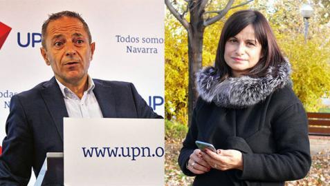 Sánchez de Muniáin y Garbayo, elegidos para la candidatura al Parlamento de Navarra
