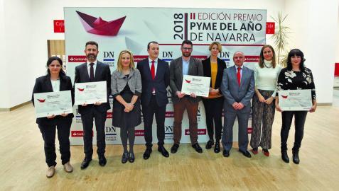 La consultora e ingeniería Tetrace, elegida Premio Pyme Navarra 2018